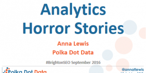 analytics horror stories